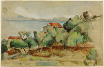 Cézanne / The bay of Estaque /  c. 1878 by AKG  Images