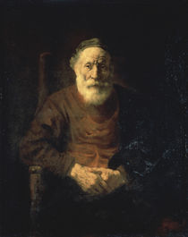Rembrandt / Portr. of Old Man in Red/ 1652 by AKG  Images