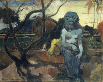 Gauguin / Rave te hiti aamu / Painting by AKG  Images