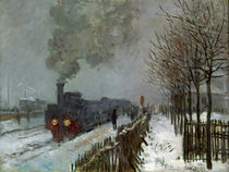 Monet / Train in the Snow / 1875 by AKG  Images