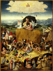 The Haywagon / H.Bosch, / Triptych, by AKG  Images