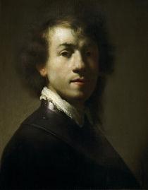 Rembrandt, Self-Portrait as Warrior by AKG  Images