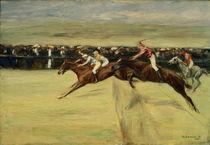 M.Liebermann, Pferderennen in Cascinen von AKG  Images