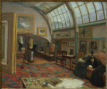 M.Liebermann / The Artist's Studio by AKG  Images