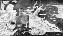 Gauguin / Women at the River / Woodcut by AKG  Images
