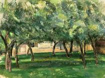 P.Cézanne, Gehöft in der Normandie von AKG  Images