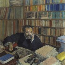Edmond Duranty / Pastell von Degas von AKG  Images