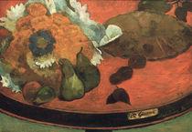 Gauguin, Stilleben Fete Gloanec von AKG  Images