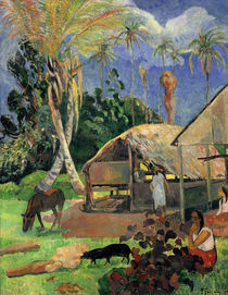 Paul Gauguin / The Balck Pigs / 1891 by AKG  Images