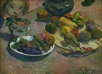 P.Gauguin, Stilleben mit Früchten von AKG  Images