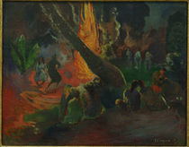 Gauguin / Firedance / Painting / 1891 by AKG  Images