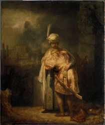 Rembrandt / David and Jonathan / 1642 by AKG  Images