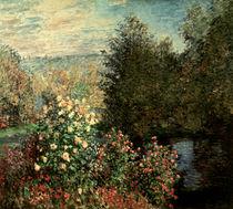 C.Monet / Garden corner in Montgeron by AKG  Images