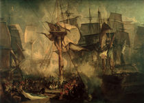 Battle of Trafalgar / Turner / 1806 by AKG  Images