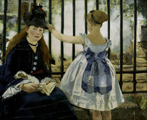 E.Manet, The train by AKG  Images