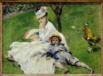 A.Renoir / Madame Monet mit Sohn Jean von AKG  Images