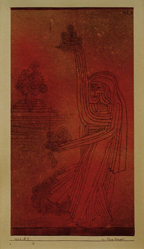 P.Klee, At the Flora Temple / 1926 by AKG  Images