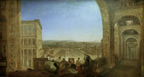 Turner / Rome from th. Vatican with Raphael by AKG  Images