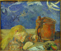 Gauguin / Sleeping Child / Painting by AKG  Images