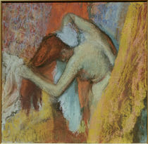 Degas / Woman at her toilet /  c. 1900/05 by AKG  Images