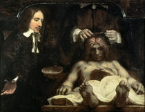 Rembrandt, Anatomie des Dr. Deijman von AKG  Images