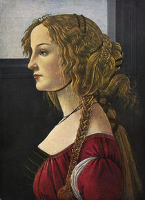 Profilbildnis einer jungen Frau / Bottic. von AKG  Images
