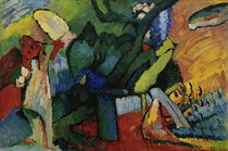 W.Kandinsky, Improvisation No. 4 by AKG  Images