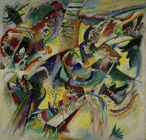 "Wassily Kandinsky / ""Improvisation Klamm"" / Painting, 1914. by AKG  Images"