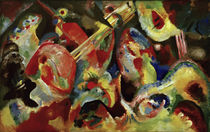 "Wassily Kandinsky / ""Improvisation Deluge"" / Painting, 1913. by AKG  Images"