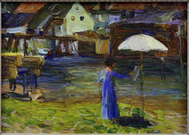 Gabriele Münter Painting I / Kandinsky / Painting, 1903 by AKG  Images