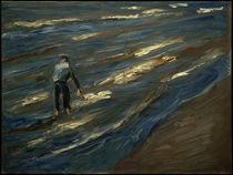 M. Liebermann, Muschelfischer am Strand - Blaue See by AKG  Images