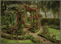 M. Liebermann, Der Rosengarten in Wannsee by AKG  Images