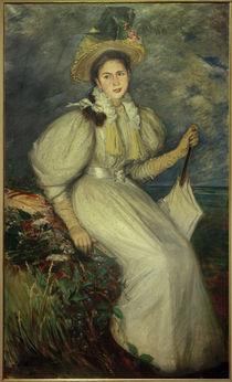 J.–É.Blanche, Porträt einer jungen Frau von AKG  Images