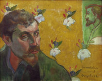 Paul Gauguin / Self-portrait 1888 by AKG  Images
