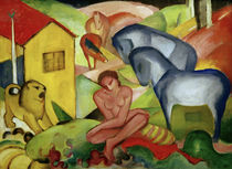 The Dream / F. Marc / Painting, 1912 by AKG  Images