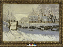 Claude Monet / The Magpie / 1868–69. by AKG  Images