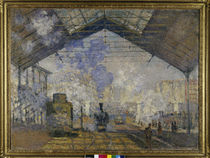 Monet / Gare Saint-Lazare / 1877 by AKG  Images