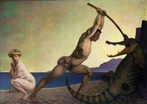 F.Valotton, Perseus slaying the dragon by AKG  Images