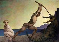 F.Valotton, Perseus den Drachen tötend von AKG  Images