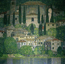 Gustav Klimt, Church in Cassone / Paint. by AKG  Images
