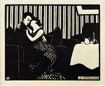 Felix Vallotton / Le mensonge (The Lie) / Woodcut. by AKG  Images