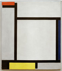 Mondrian / Composition with red.../ 1921 by AKG  Images