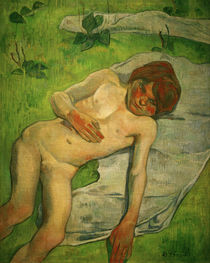 "P.Gauguin, ""A Breton Boy"" / painting by AKG  Images"