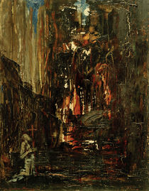The Vision / G. Moreau /Painting by AKG  Images
