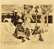 P.Gauguin, Grillen und Ameisen von AKG  Images