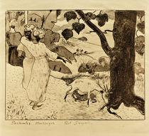 P.Gauguin, Pastorale auf Martinique by AKG  Images