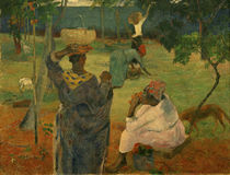 Paul Gauguin / The Mango Pickers. by AKG  Images