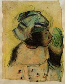 """P.Gauguin, """"Tête de femme, Martinique"""" / drawing by AKG  Images"""