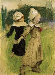 P.Gauguin, Studie für Bretonische Mädchen beim Tanz von AKG  Images