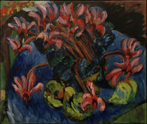 E.L.Kirchner, Cyclamen At Christmas by AKG  Images